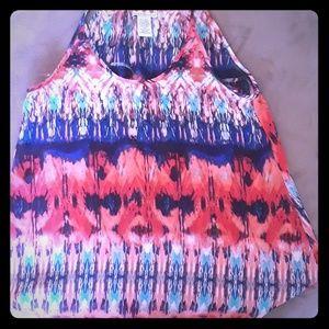 Trixxi tank top blouse size 5
